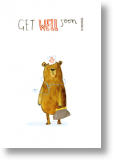 Dr Bear, Get Well Card