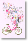Bicycle Blooms, Mother's Day Card