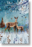 Crystal Deer, General Christmas Card