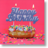 Doughnut, Birthday Card for Her