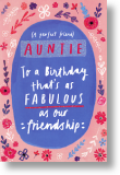 Friendship - Auntie