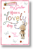 Lovely Day, Sister Birthday Card