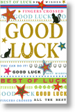 Fingers Crossed, Good Luck Card