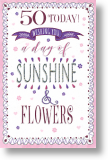 Sunshine & Flowers - 50th