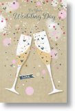 A Toast, Wedding Day Card
