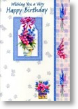Flower Bonanza, Birthday Card for Her