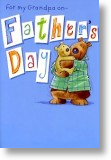Bear Hug, Grandpa Birthday Card
