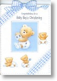 Baby Bears, Christening Card