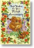 Bears First Anniversary
