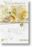 Butterflies & Champagne, Engagement Card