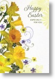 Daffodil Trumpets, Easter Card