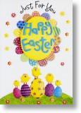 Decorated Eggs, Easter Card
