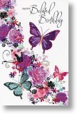 Butterflies, Belated Birthday Card
