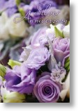 Purple Bouquet - 25th