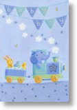 All Aboard, New Baby Card
