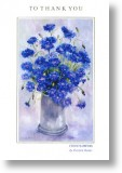 Cornflowers, Thank You Card
