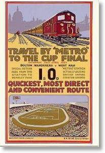 Travel by Metro to Cup Final