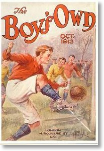 Boy's Own Cover, Best of British Postcard