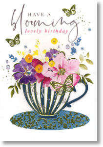 Blooming Lovely, Birthday Card for Her