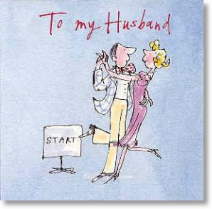 Dancing, Husband Birthday Card