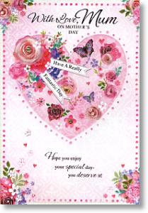 Flower-Heart, large card