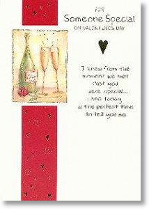 Someone Special, Traditional Valentine's Day Card