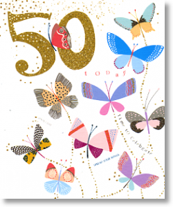 Butterflies - 50th