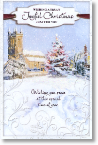 Joyful Christmas, Religious General Christmas Card