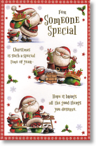 Busy Santa - Someone Special