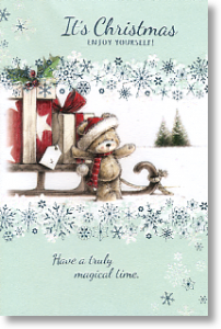 Truly Magical Time, Cute General Christmas Card