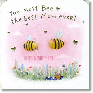 Buzzy Bees, Mother's Day Card