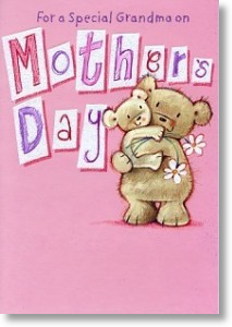 Bear Hug, Grandma Mother's Day Card