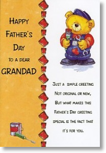 Father's-Day Card, Grandad