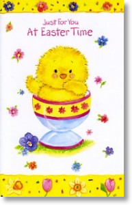 Egg Cup, Easter Card