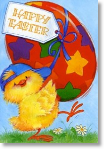 Fun and Treats, Easter Card