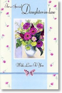 Daughter-in-law (Large card)