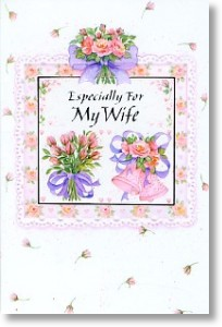 Especially For My Wife, Wife Anniversary Card