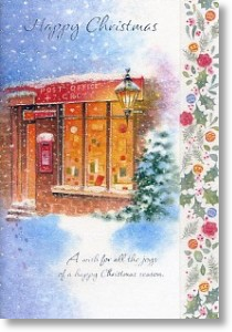 Post Office, General Christmas Card