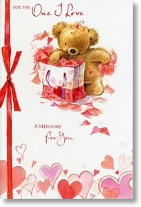 Giftbag, Cute Valentine's Day Card