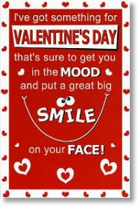 Smile, Funny Valentine's Day Card