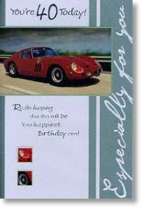 Red-Sportscar, 40th