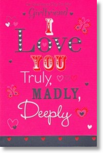 Truly, Madly, Deeply - Girlfriend