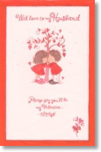 Forever, Husband Valentine's Day Card