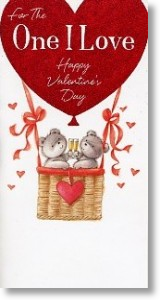 One I Love, Cute Valentine's Day Card