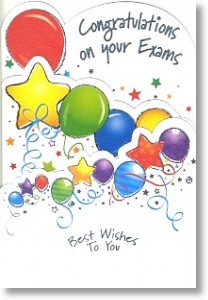 Best Wishes To You, Exam Congratulations Card