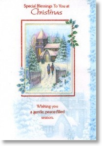 Special Blessings, Religious General Christmas Card