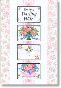 Darling Wife, Wife Anniversary Card
