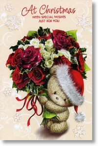 Xmas Bouquet, Cute General Christmas Card