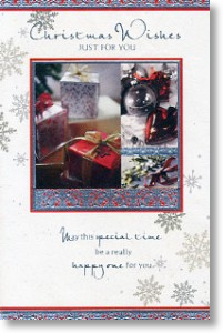 Presents & Baubles, General Christmas Card