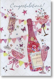Fizz, Congratulations Card